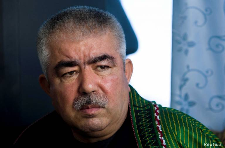 The first Uzbek Marshal of Afghanistan