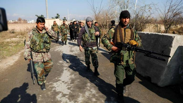 Thousands of families flee their homes as fighting is underway in Helmand
