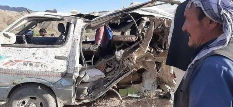 Roadside bombs kill nine civilians in Maidan Wardak province