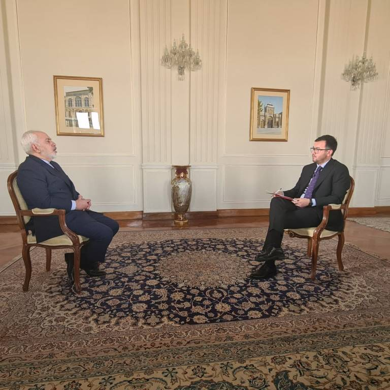 Javad Zarif: Iran supports a democratic and constitutional political setup in Afghanistan