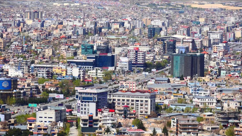 """Kabul residents chant """"Allahu Akbar"""" in support of Afghan forces"""