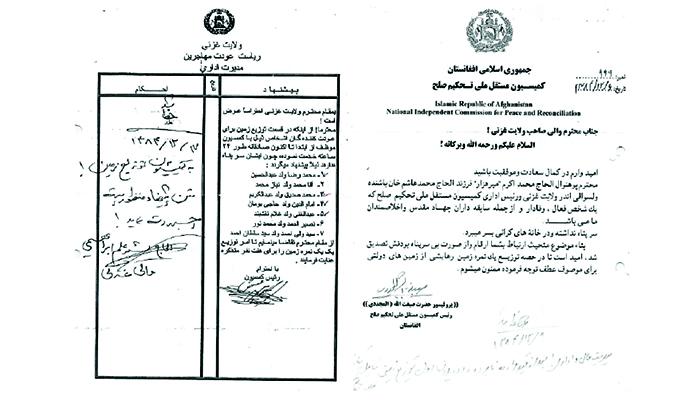 Corruption in Ghazni land-allocation scheme