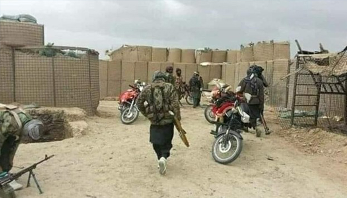 Tactical retreat or collusion with Taliban