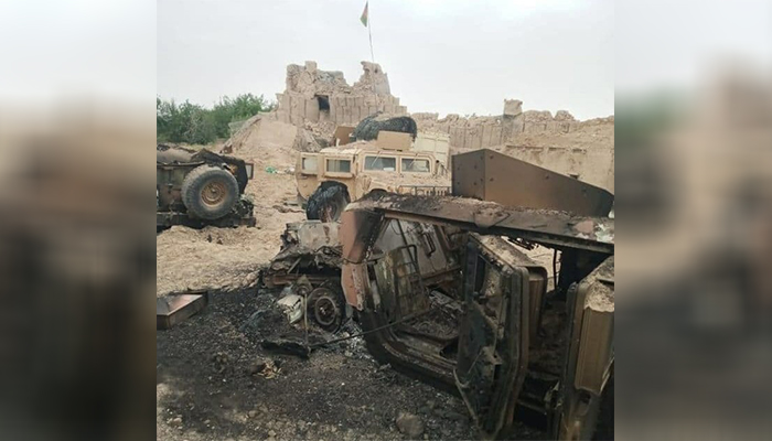 Taliban battle continues to claim territory in western Afghanistan