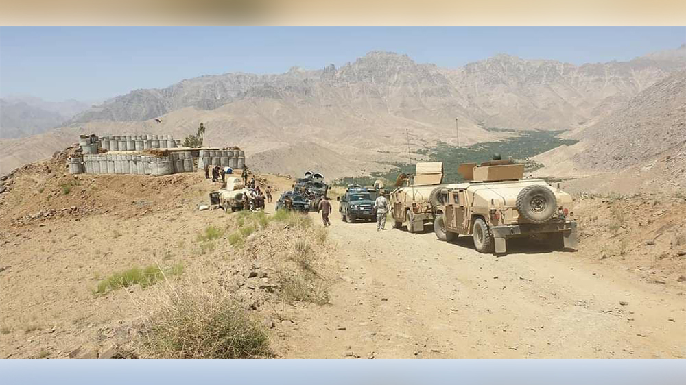 Locals mobilized to defend Taliban attacks in Patoo district of Daikundi