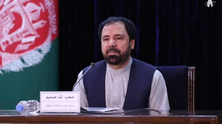 Afghan minister reacts against remarks