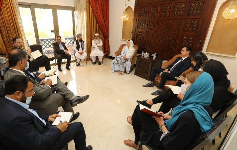 UN Under-Secretary General restates continued support for Afghan peace process