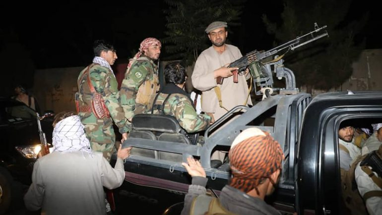 Locals mobilized against Taliban in Parwan