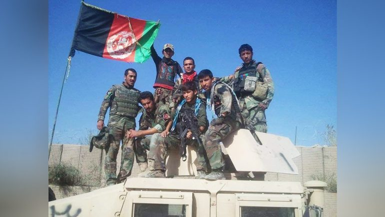 Army forces recapture Dawlat Abad district