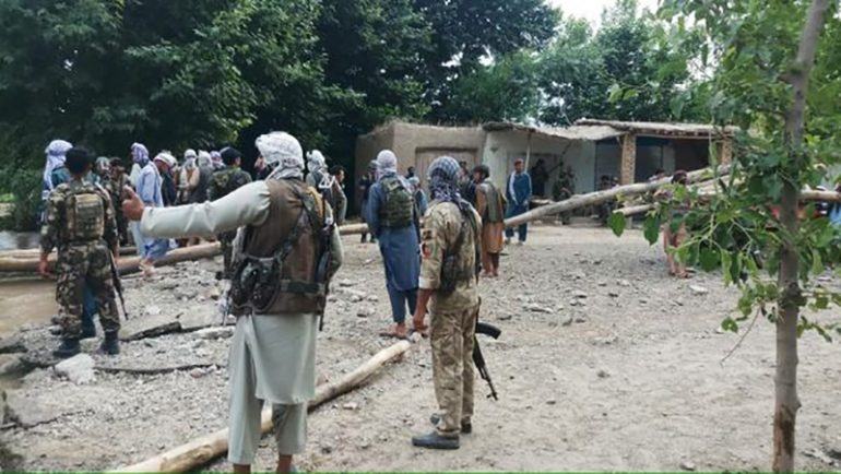 Around 20 security forces killed