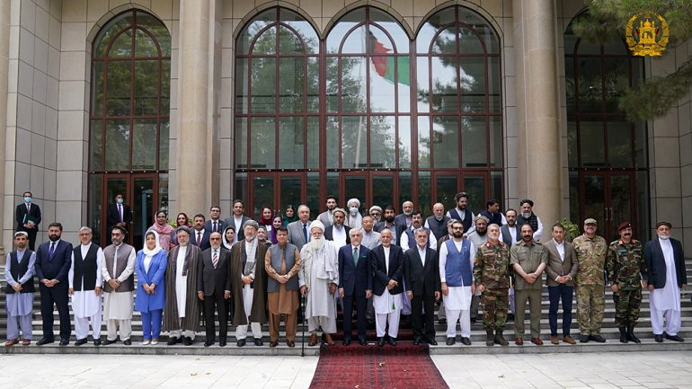 Afghan politicians and jihadi leaders will support Afghan security forces