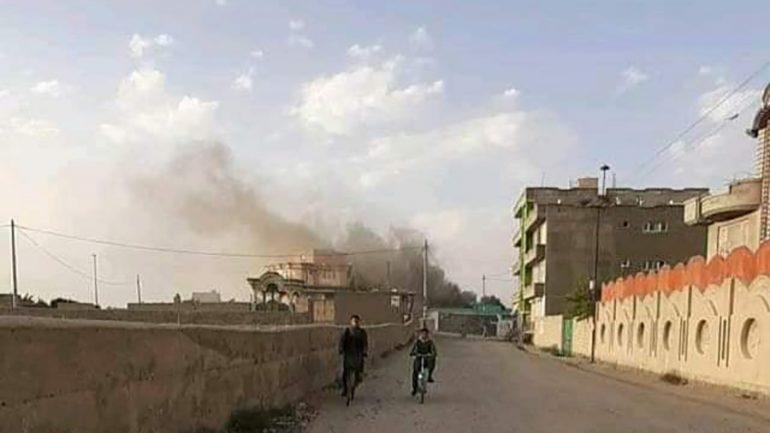 Taliban set high school on fire in Ghazni