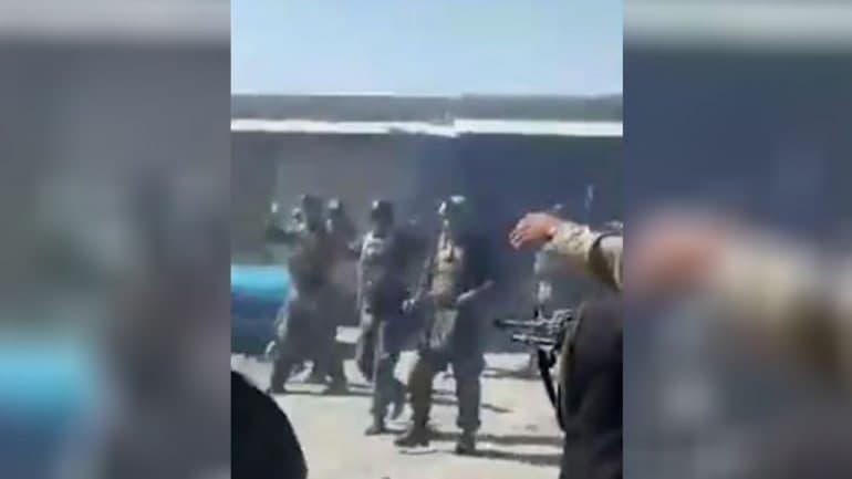 Taliban war crime