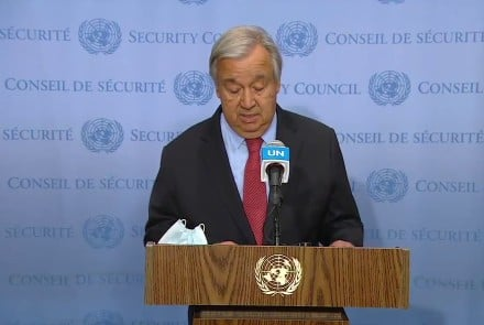 UN Secretary-General calls on Taliban to end violence