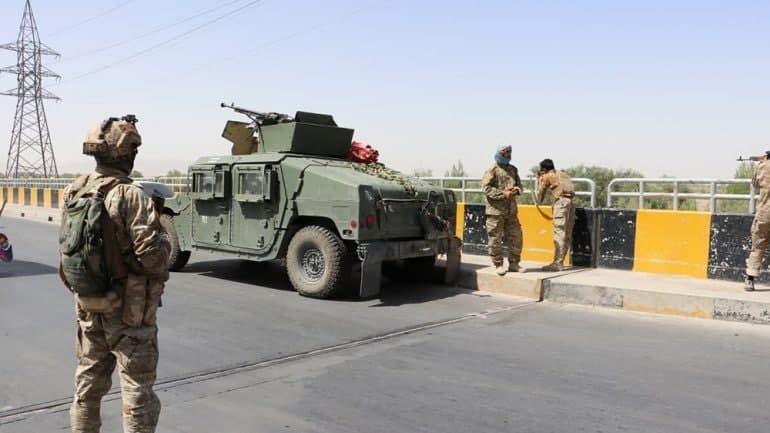 Afghan forces push back Taliban in Herat and Lashkar Gah