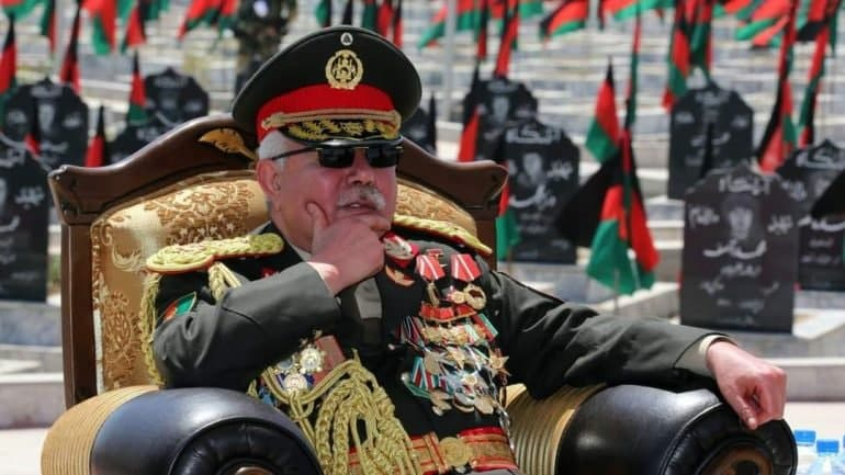 Marshal Dostum promises to fight advancing Taliban in north