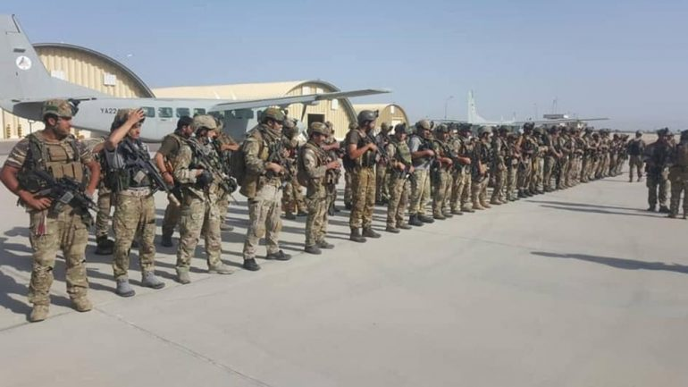 Troops deployed to Herat as clash goes on outside the city