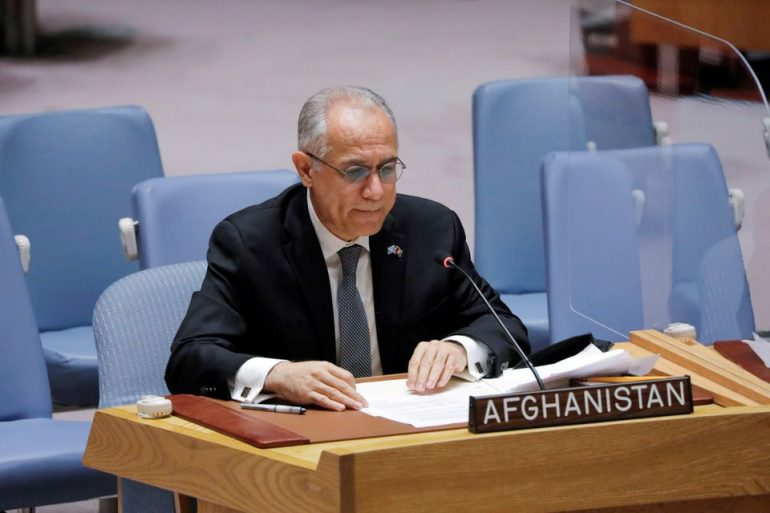 Isaczai, Afghanistan permanent representative to the UN