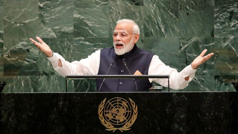 Indian PM indirectly blame Pakistan of using terrorism as 'political tool'
